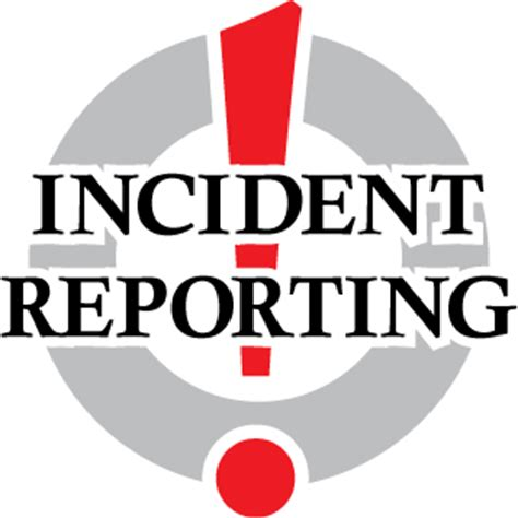 How to write a report of an incident